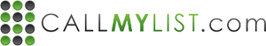 Call My List logo